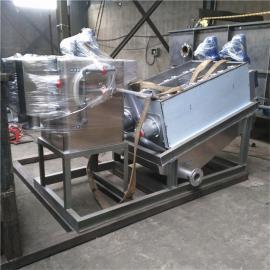 *生产不锈钢叠螺式污泥脱水机全自动污泥浓缩一体设备