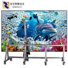 东北汉皇墙体彩绘机市场墙体喷绘机前景分析