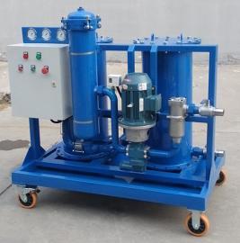 净化LYC-G系列Pr燃油不锈钢废油再生过滤机使用