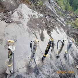 石灰岩矿山劈裂机静态