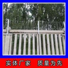 镀锌刺绳生产 刀片刺网监狱钢网墙 刺铁丝围栏