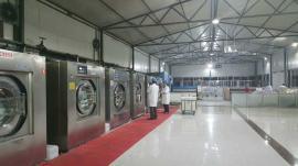 100公斤酒店洗衣房设备|大型洗宾馆布草全套设备