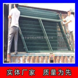 现货定做铁路焊接隔离栅 框架防护网 框架热镀锌铁丝护栏网