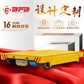 仓储物流钢包运输车卷线式电动平车