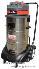 220v工业吸尘器手推式吸尘吸水机仓库移动大功率电线吸尘器