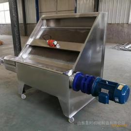 环保不锈钢固液分离机 鸡粪猪粪干湿脱水机 圣时挤压式脱水机