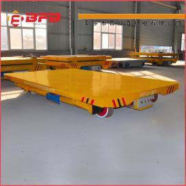 装配厂房电动平车采购电动平车转盘结构搬运轨道车