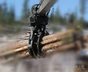 大型抓木器 360°回旋抓取无死角,装卸搬运木材 夹木器 抱木夹
