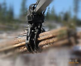 大型抓木器 360°回旋抓取�o死角,�b卸搬�\木材 �A木器 抱木�A