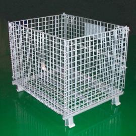 利欣仓储笼规格,仓储笼设计图,折叠式周转笼