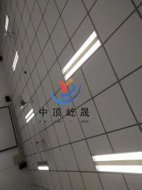 单色岩棉玻纤吸音板 屹晟建材出品 吊顶案例图 岩棉玻纤板