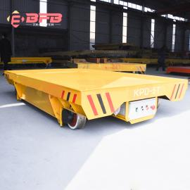 回郭镇2吨电动平板车 火车牵引车承载量大