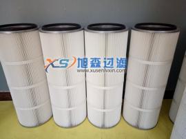 3266覆膜高效除尘滤筒 ptfe覆膜滤筒3266烟尘处理滤芯