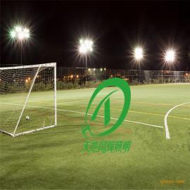 带跑道足球场照明灯瓦数|LED足球场高杆灯装灯数量