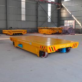 卷筒卷线式60吨车间运输轨道车 可以量身定制的电动平车厂商