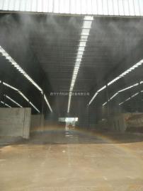 建筑工地围挡喷淋 搅拌站喷淋2019普及除尘抑尘设施