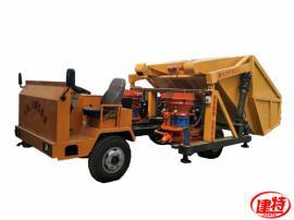 混凝土喷浆车丨建特-自动上料喷浆机-一拖二单斗热销新品