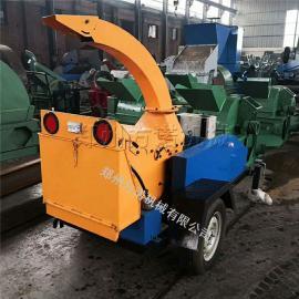 拖拉式修剪树木粉碎机移动方便