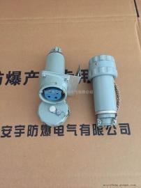 100YT-4J/100GZ-4K固定式4芯防爆插头插座