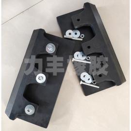 铲车耐磨橡胶垫 粮食装载机橡胶铲板 铲斗防磨胶皮