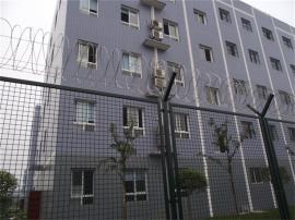 监狱刀刺钢网墙-看守所隔离网墙-监狱铁丝隔离网墙厂