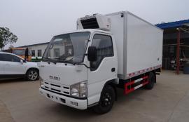江铃蓝牌4.2米货厢冷藏车