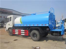 浇水车、10立方12立方农用抗旱浇水车、工地10-12吨拉水车配置报&