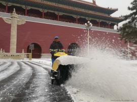 FH富华FH-1110清雪机、小型扫雪机、广场扫雪机 万富大众扫雪机