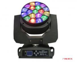 19颗X15w 大烽眼摇头灯 可调焦染色舞台灯光 无极旋转摇头灯