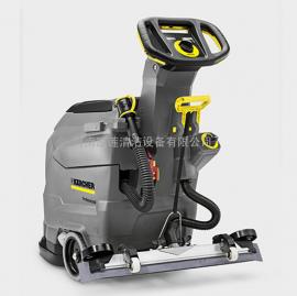 医院环氧树脂地面用凯驰B 60 W Bp电池驱动型手推式洗地机
