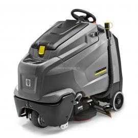 凯驰B60W手推式洗地吸干机