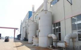 蓝阳环保型喷淋塔废气洗涤塔处理设备 喷雾净化洗涤塔