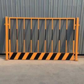 竖杆红白相间基坑临边护栏围栏网建筑施工爬架安全防护网
