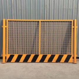 警示基坑护栏网 建筑施工防坠落围栏网 安全防护基坑护栏