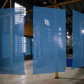 现货半米字型边框爬架网 中建蓝爬架网片量大从优