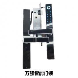 万强D1智能门锁 全自动指纹锁密码锁