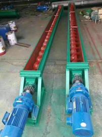 LS型螺旋输送机绞龙叶片搅拌站混凝土连续上料提升机碳钢