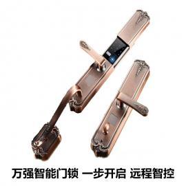 万强 K300智能门锁 全自动指纹锁智能门锁