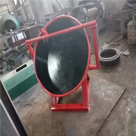 小型圆盘造粒机 有机肥生产线设备 高效有机肥造粒机