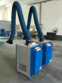 环保移动式焊烟净化器 工业电锡二保焊接烟雾空气除尘器