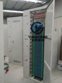 864芯三网合一光纤配线架规格尺寸图文解释