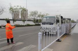 小型绿化带护栏清洗车施工护栏清洗车设备