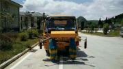 蓝牌道路护栏清洗车施工护栏清洗车装置