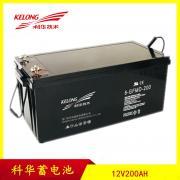 科华蓄电池精卫系列6-GFM-200-YT 12V200AH铅酸免维护蓄电池