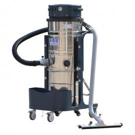乐普洁220v仓库粉尘用吸尘器100L大桶工业吸尘器