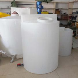 1000L塑料搅拌桶 洗衣液搅拌罐 pac pam搅拌塑料水箱