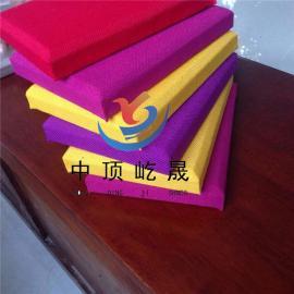 吊顶硅酸钙板 岩棉布艺吸声板 布艺降噪板 吊顶天花板
