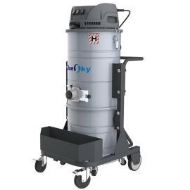 单相电三马达强力工业吸尘器车间打扫卫生吸颗粒木屑粉尘吸尘器