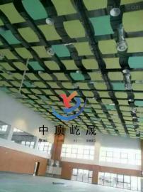 餐�d 吸�降噪�b�用 �r棉玻�w吊�板 隔音吸�板 垂片