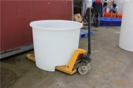 1吨食品叉车塑料桶 托盘叉车桶 1000L叉车桶 食品腌制叉车桶